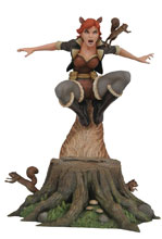 Image: Marvel Gallery PVC Diorama: The Unbeatable Squirrel Girl  - Diamond Select Toys LLC