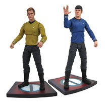 Image: Star Trek: Into Darkness Select Action Figure Assortment  - Diamond Select Toys LLC