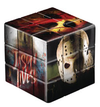 Image: Friday the 13th Puzzle Cube: Jason Voorhees  - Mezco Toys