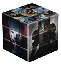 Image: It 2017 Puzzle Cube: Pennywise  - Mezco Toys