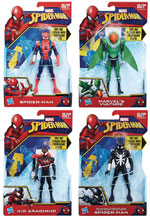 Image: Spider-Man Quick Shot Action Figure Assortment 201801  (6-inch) - Hasbro Toy Group