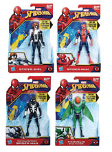 Image: Spider-Man Quick Shot Action Figure Assortment 201802  (6-inch) - Hasbro Toy Group