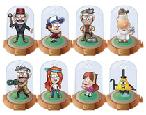 Image: Gravity Falls Domez 24-Piece Blind Mystery Bust Display Series 2  - Ucc Distributing