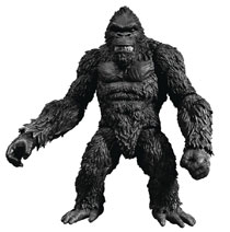 Image: King Kong of Skull Island Action Figure  (7-inch) (B&W version) - Mezco Toys