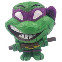 Image: Teenage Mutant Ninja Turtles Eekeez Figurine: Donatello  - Forever Collectibles