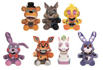 Image: Five Nights at Freddy's Twisted Ones 9-Piece Plush Figure Display  - Funko