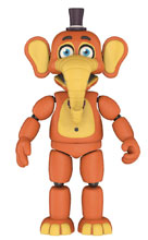 Image: Five Nights at Freddy's: Pizza Sim Action Figure - Orville Elephant  (5-inch) - Funko