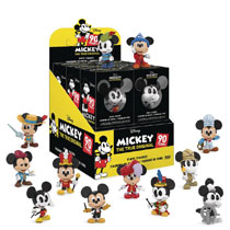 Image: Mystery Minis Disney Mickeys 90th 12-Piece Blind Mystery Bust Display  - Funko