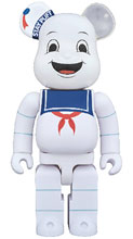 Image: Ghostbusters Bearbrick: Stay Puft 1000  - Medicom Toy Corporation