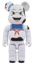 Image: Ghostbusters Bearbrick: Stay Puft 400  (Anger Face version) - Medicom Toy Corporation
