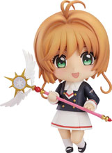 Image: Cardcaptor Sakura Nendoroid Action Figure: Clear Card Sakura  (Uniform version) - Good Smile Company