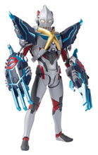 Image: Ultraman X S.H. Figuarts Action Figure: Ultraman X and Gomora Armor Set  - Tamashii Nations