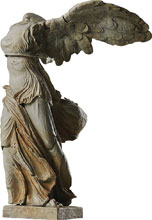 Image: Table Museum Figma Action Figure: Winged Victory of Samothrace  - Freeing