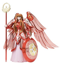 Image: Saint Seiya Action Figure: Goddess Athena Saint Cloth Myth  (15 Anniversary version) - Tamashii Nations