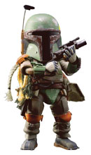 Image: Star Wars Episode V EAA-020 PX Action Figure: Boba Fett  - Beast Kingdom Co., Ltd