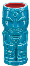 Image: DC Heroes Justice League Geeki Tiki Glass: Superman  - Beeline Creative Inc.