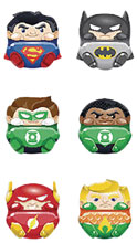 Image: BBuddieez DC 48-Piece Blind Mystery Bust Display: Justice League  - Jupiter Creations Inc.