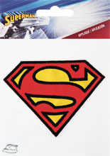 Image: Iron on Patch: Superman Logo  - Simplicity Creative Corp.