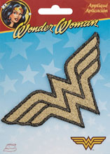 Image: Iron on Patch: Wonder Woman Shimmer Logo  - Simplicity Creative Corp.