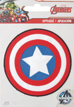 Image: Iron on Patch: Captain America Shield  - Simplicity Creative Corp.