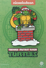 Image: Teenage Mutant Ninja Turtles Pin: Santa Raphael  - Zen Monkey Studios LLC