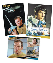 Image: Star Trek: TOS Captain's Collection Card Album  - Rittenhouse Archives