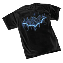 Image: Batman T-Shirt: Tech Symbol  (L) - Graphitti Designs