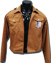 Image: Attack on Titan Jacket: Scouting Legion Uniform  (S) - Great Eastern Entertainment