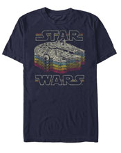 Image: Star Wars T-Shirt: Retro Color [Navy]  (M) - Fifth Sun