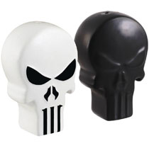 Image: Marvel Salt n Pepper Shakers: Punisher Icon  - Seven 20