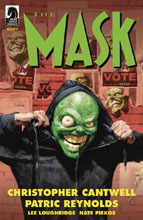 Image: Mask: I Pledge Allegiance to the Mask #1 (cover A - Reynolds) - Dark Horse Comics