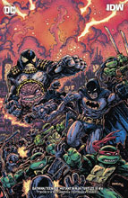 Image: Batman / Teenage Mutant Ninja Turtles III #6 (variant cover - Kevin Eastman) - DC Comics/IDW