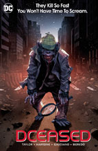 Image: DCeased #6 (variant card stock Horror Movie Homage cover - Yasmine Putri) - DC Comics