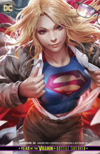 Image: Supergirl #36 (YotV) (variant card stock cover - Derrick Chew) - DC Comics