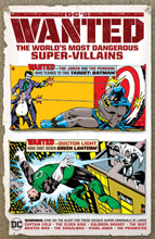 Image: DC's Wanted: The World's Most Dangerous Super-Villains HC  - DC Comics