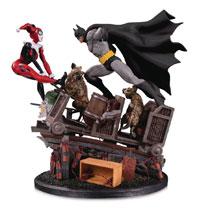 dc comics sep150351/zweite Edition Batman Harley Quinn Statue von Paul Dini