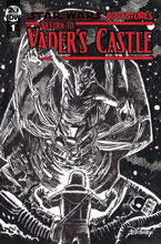 Image: Star Wars Adventures: Return to Vader's Castle #1 (incentive 1:10 cover - B&W Francavilla) - IDW Publishing