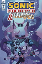 Image: Sonic the Hedgehog: Tangle & Whisper #4 (cover A - Stanley)  [2019] - IDW Publishing