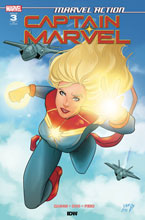 Image: Marvel Action: Captain Marvel #3 (incentive 1:10 cover - Montanez) - IDW Publishing