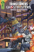 Image: Transformers / Ghostbusters #5 (cover A - Schoening)  [2019] - IDW Publishing