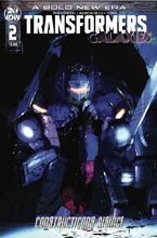 Image: Transformers: Galaxies #2 (cover A - Ramondelli) - IDW Publishing