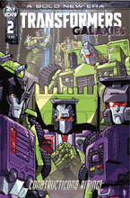 Image: Transformers Galaxies #2 (cover B - Milne) - IDW Publishing