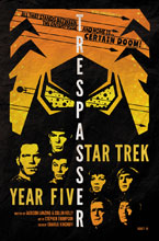 Image: Star Trek: Year Five #7 (incentive 1:10 cover - Lendl)  [2019] - IDW Publishing