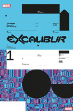 Image: Excalibur #1 (incentive 1:10 Design cover - Tom Muller)  [2019] - Marvel Comics