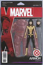 Image: Powers of X #6 (variant Action Figure cover - Christopher) - Marvel Comics