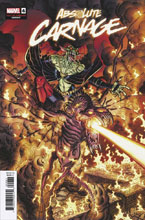 Image: Absolute Carnage #4 (incentive 1:25 Cult of Carnage cover - Bradshaw) - Marvel Comics