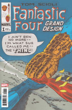 Image: Fantastic Four: Grand Design #1 - Marvel Comics