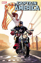 Image: Captain America #15 (variant Mary Jane cover - Hughes) - Marvel Comics