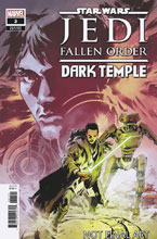Image: Star Wars: Jedi Fallen Order - Dark Temple #3 (incentive 1:10 cover - Villanelli) - Marvel Comics