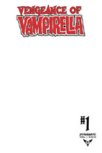 Image: Vengeance of Vampirella #1 (variant Blank Authentix cover - Blank Cover) - Dynamite